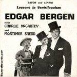 Edgar Bergen with Charlie McCarthy